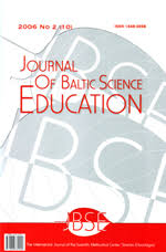 Journal of Baltic Science Education