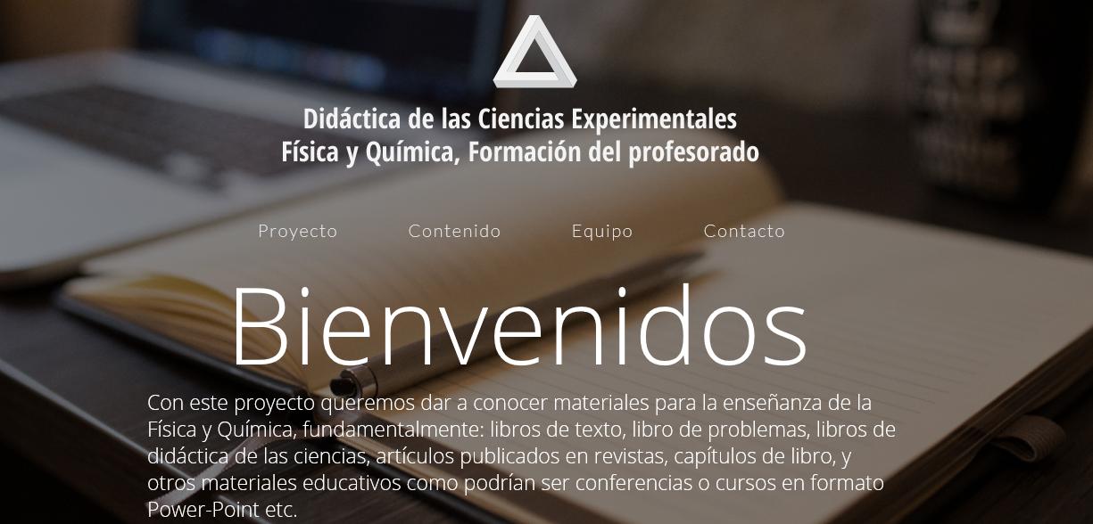 Página web: didacticafisicaquimica.es